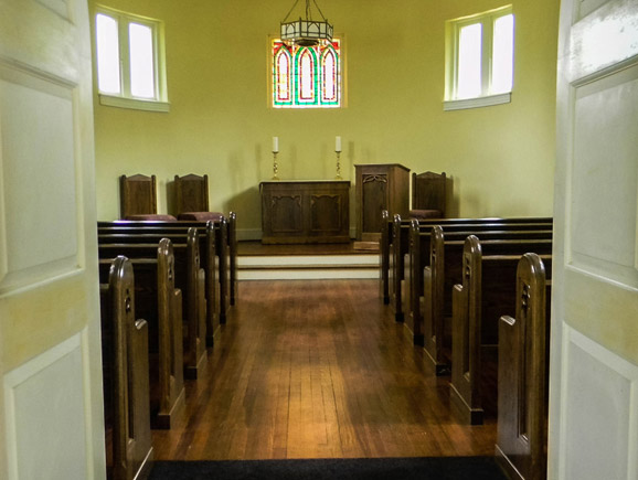 Chapel for burial service