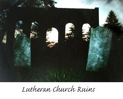 Lutheran Church Ruins at Mt Hebron
